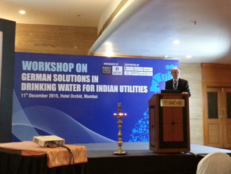 Foto: Workshop - German solutions in drinking water for indian utilities